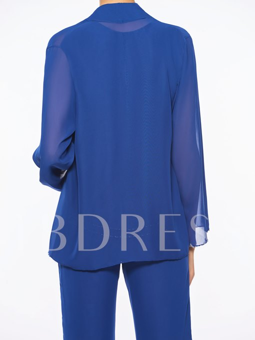 Sequins Mother of the Bride Jumpsuit with Jacket