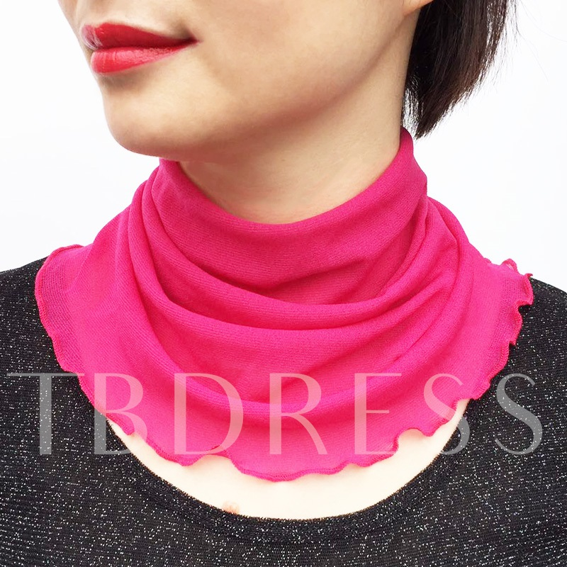Neck Guard Pullover All Match Printing Scarfs