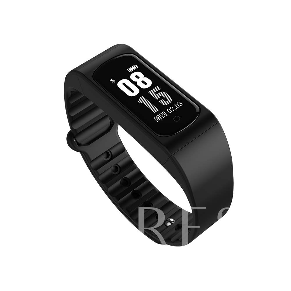 Pop W4S Fitness Tracker Waterproof Body Temperature Monitor for Apple Android Phones