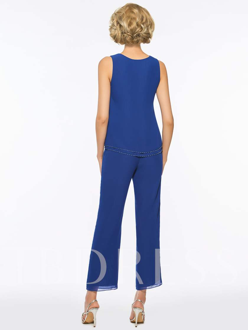 Sequins 3 Pieces Mother of the Bride Pantsuits