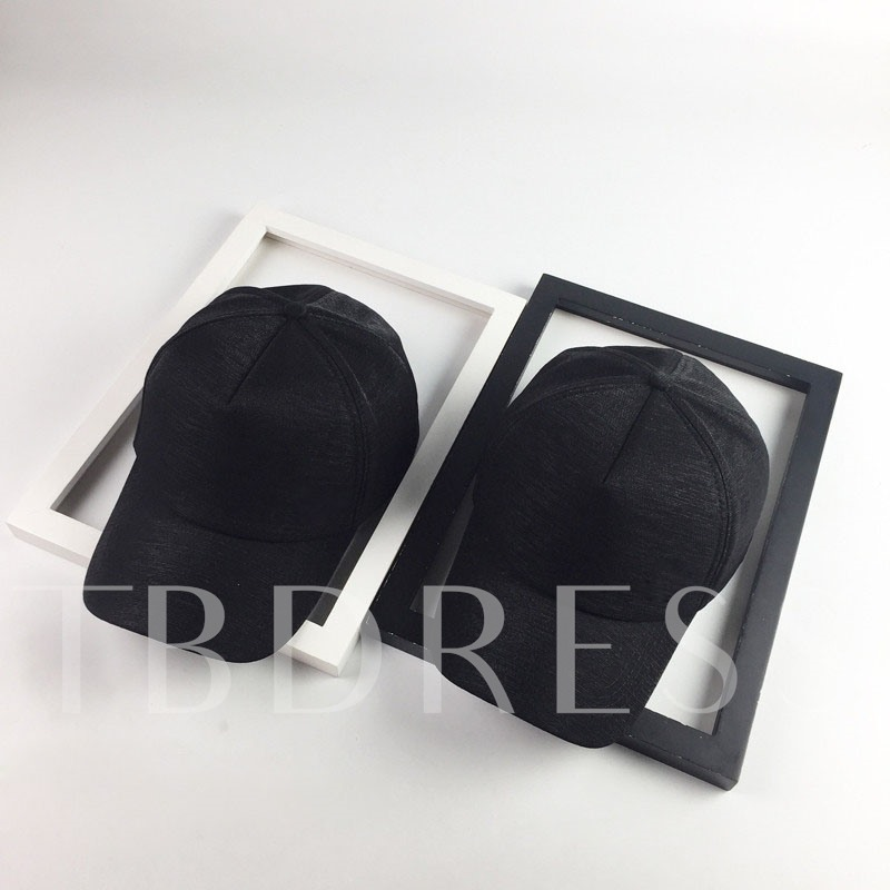 Adjustable Solid Color All Match Cotton Hats