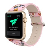 Apple Watch iWatch Band,Artificial Leather Smart Watch Strap for Women