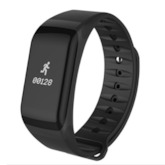 Cheap F1 Fitness Tracker Smart Band Waterproof Heart Rate Blood Pressure Monitor