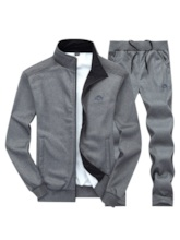 Plain Jacket Men's Outfit
