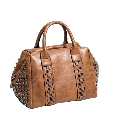Personality Rivet Huge Space Women Satchel