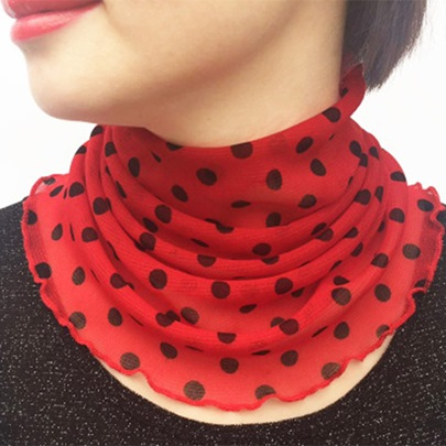 All Match Polyester Fiber Neck Protection Scarfs