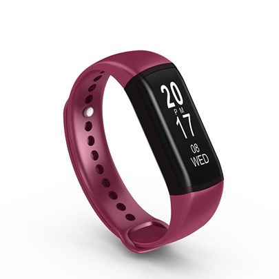 L55 Blood Pressure Fitness Tracker Waterproof for Apple Android Phones