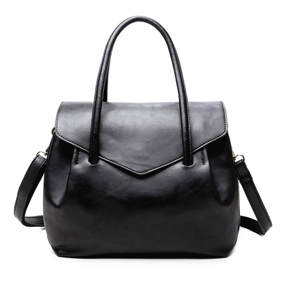 Korean Style Causal Soft PU Women Tote