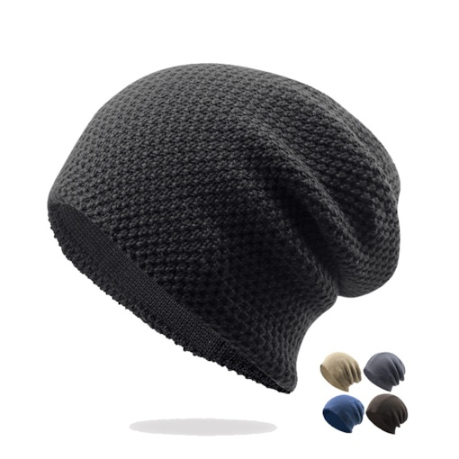 Simple Cotton Skullies Beanies