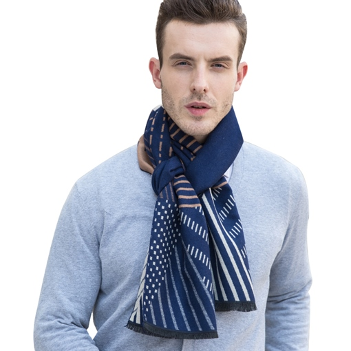 Wool Blends Male Scarfs