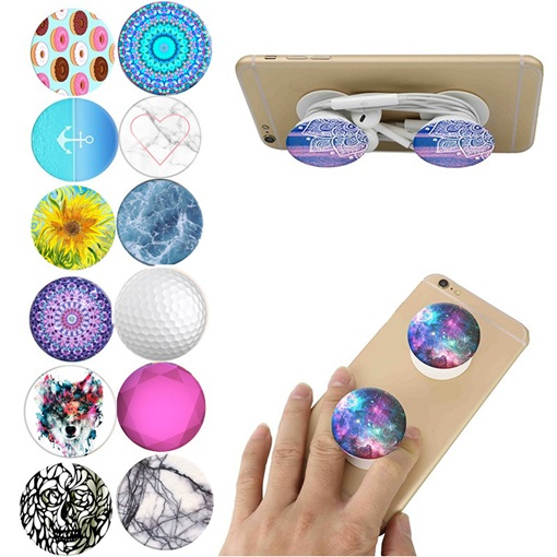Cheap Cell Phone Pop Socket Expanding Grip Mount for Apple iPhone Samsung Huawei