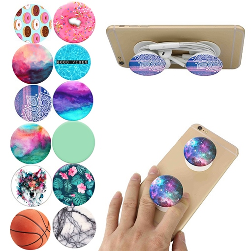 Fashion Pop Sockets Expanding Mount Holder for iPhone Android Phones