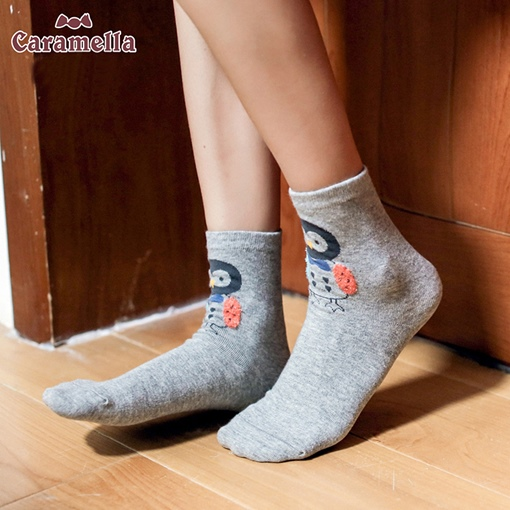 Gift Box Women's Cute cartoon colorful Animals Socks 4 Pairs