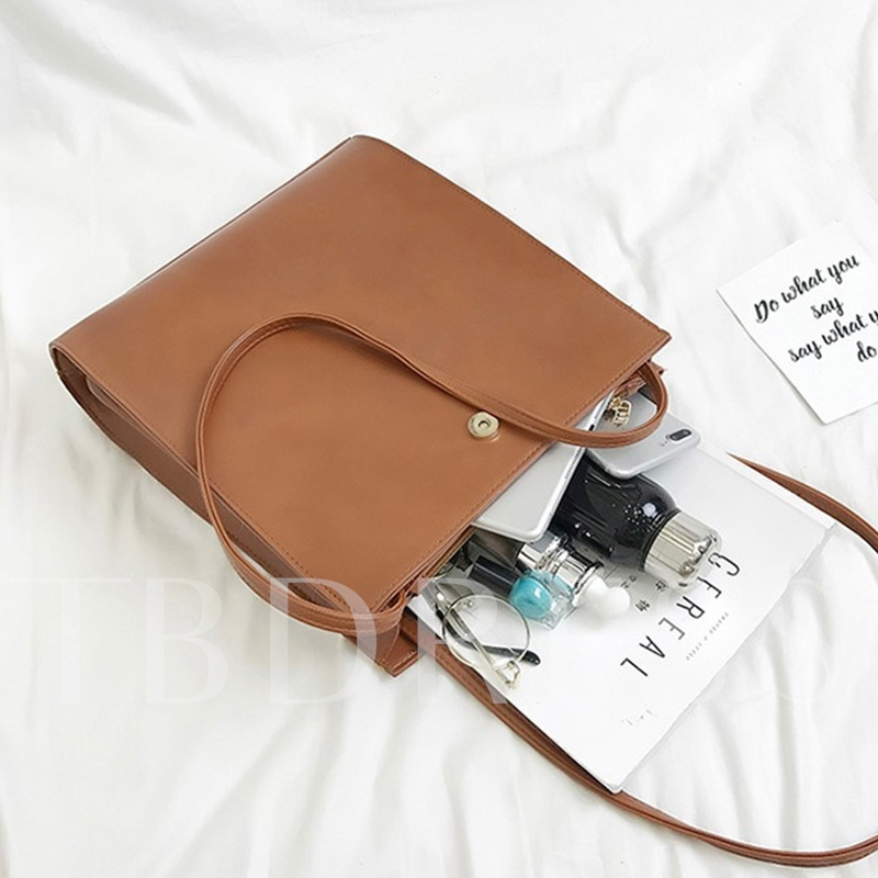 Well Match Concise Shoulder Bag