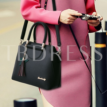 Lychee Pattern Solid Color Women Tote Bag
