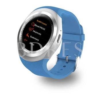 Y1 Plus Smart Watch with Heart Rate Blood Pressure Monitor for iPhone Android Phones