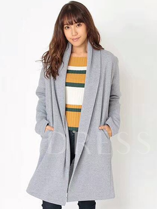 Loose Casual Long Sleeve Women's Winter Cardigan