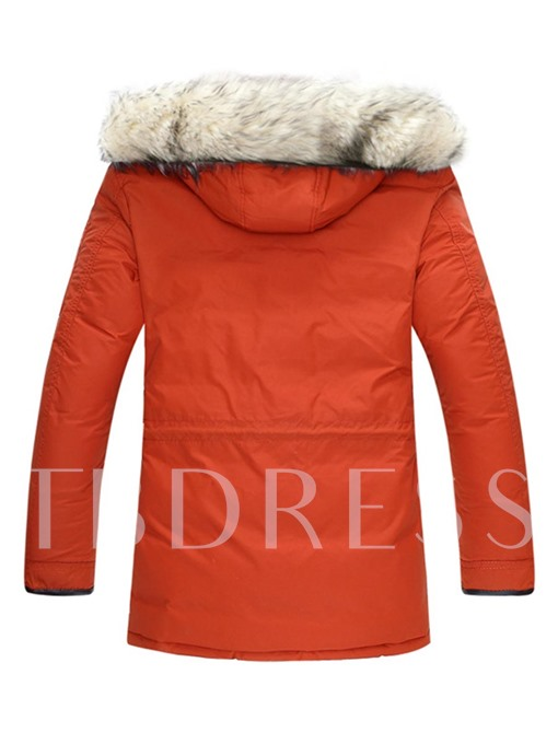 Fur Hooded Thick Warm Luxury Men's Winter Coat