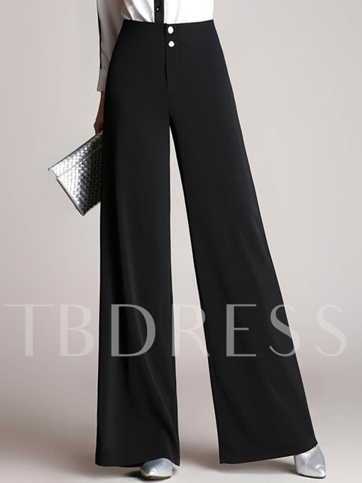 Fall Loose Wide Legs Women's Casual Pants