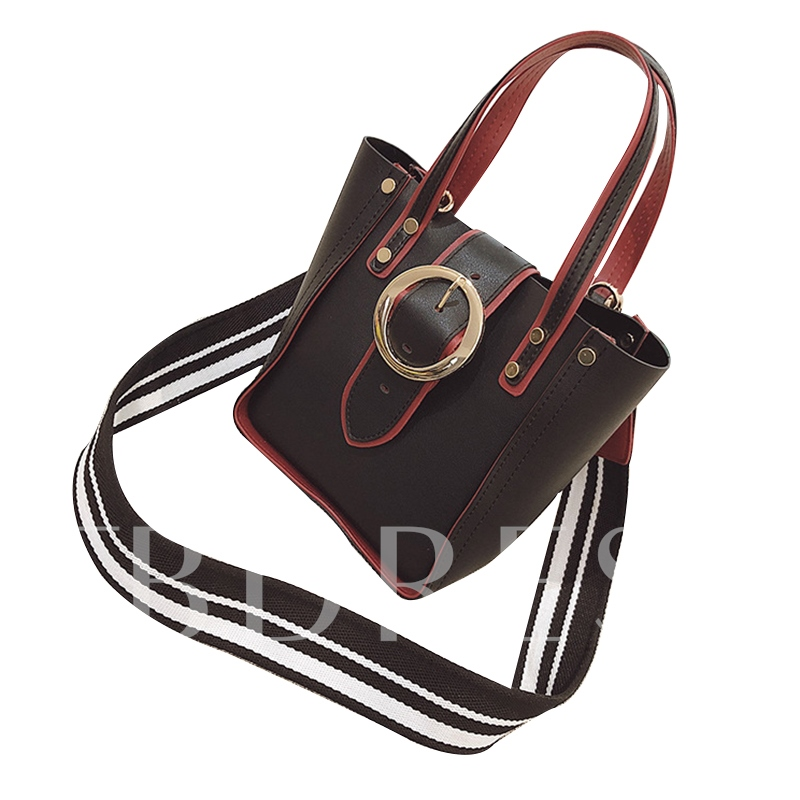 Casual Belt-Decorated Cross Body Bag