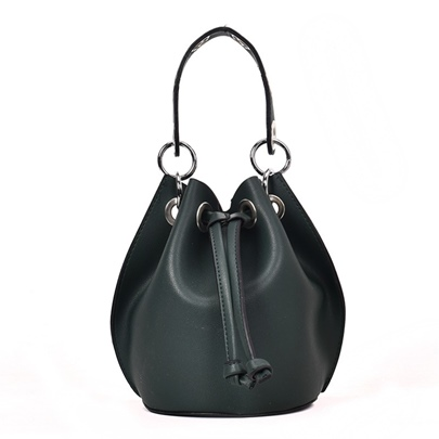 Retro String PU Women Shoulder Bag