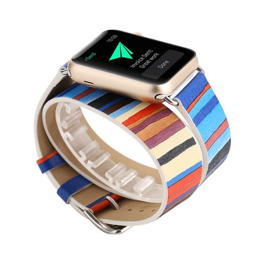 Stripe Apple Watch Band Replacement for Apple iWatch 38mm/42mm