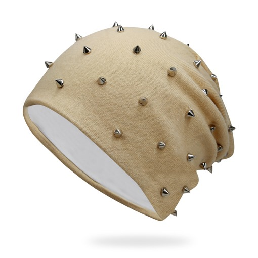 Rivets Solid Color Cotton All Match Hats