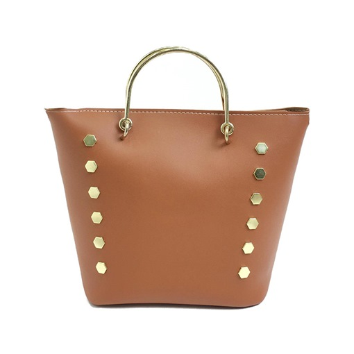 Fashion Rivet Decoration Women Tote