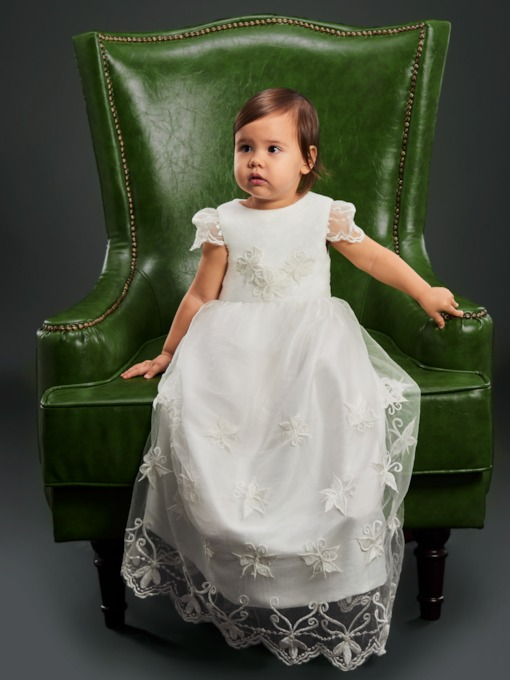 Shop Christening Gowns for Girls   Boys Sales - Tbdress.com 5607367fa7e5