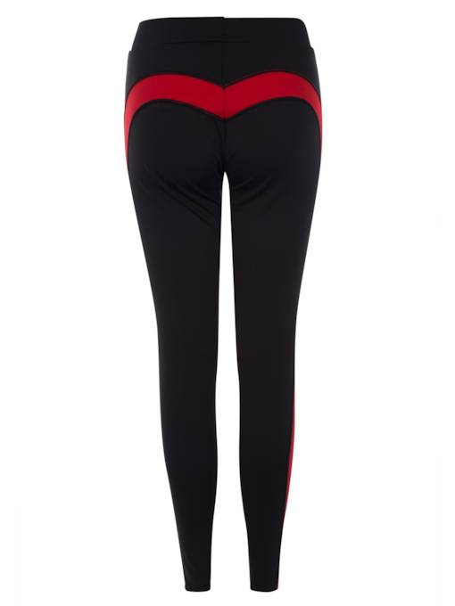 Skinny Color Block Stripe Women's Leggings