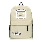 Casual Comic Prints Zipper Backpack