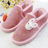 Hand Painted Slip On Platform Women's Cute Snow Boots