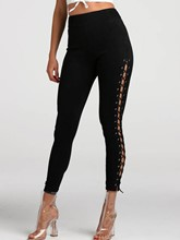 Skinny High Waist Hollow Women's Long Underwear