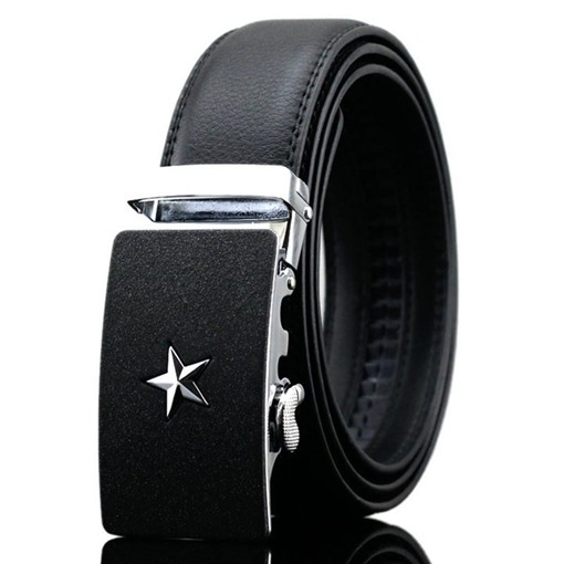 Pentagram Split Cowhide All Match Men's Belts