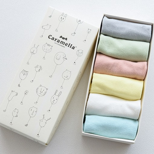 Solid Cotton Basic Socks for Girls