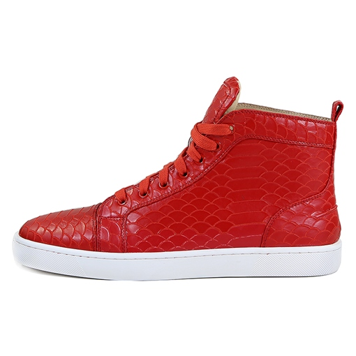 Serpentine Lace Up Solid Men's Fashion Sneakers