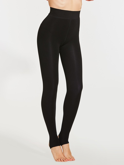 Plain Winter Thicker High-Waist Women's Leggings