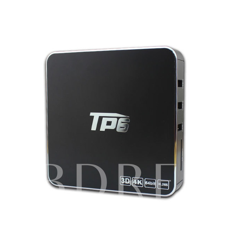 TP6 Digital Converter Box 1GB+8GB HD Android TV Box Support Wifi/TF Card