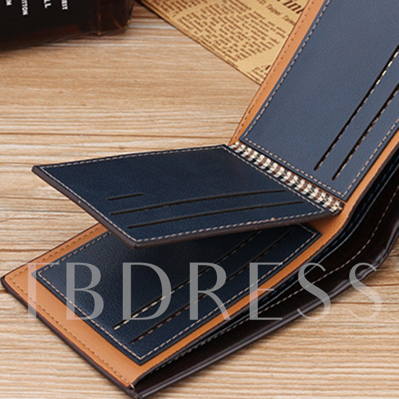 Occident Style Embossing Men's Wallet