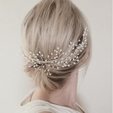Tuck Comb Imitation Pearl Hair Accessories