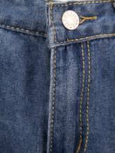 Slim Worn Hole Denim Women's Jeans