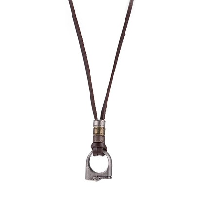 Alloy Rope Chain Hollow Out Hyperbole Men's Necklace