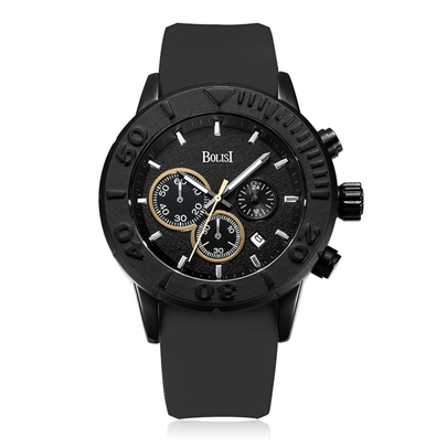Silicone Calendar Display Alloy Men's Watches