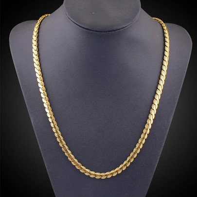 Overgild 18K African Men's Necklace