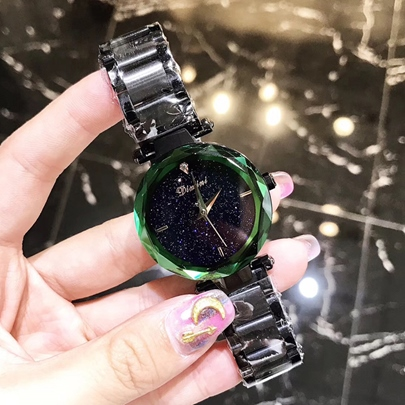 Shining Stainless Steel Analogue Display Watches