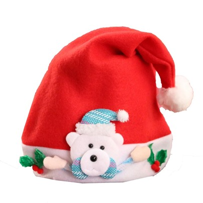 Christmas Santa Claus Snowman Cute Random Delivery Hats