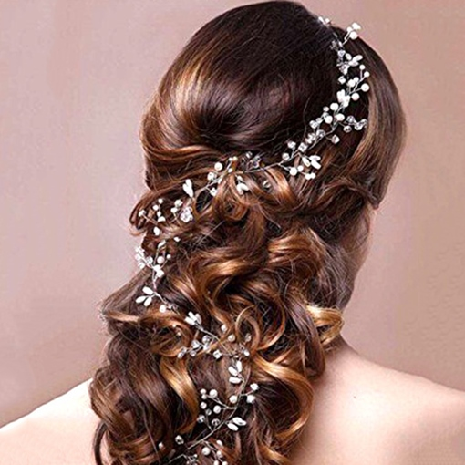Copper Wire Rhinestone Hair Band Hair Accessories