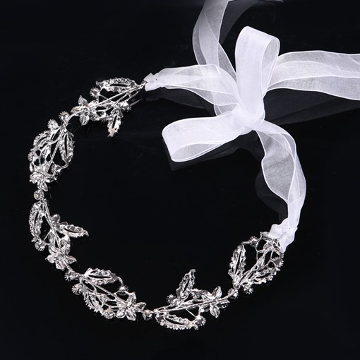 Hollow Out Leaf Hair Band Wedding Accessories