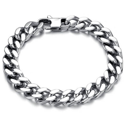 Polishing Stainless Steel Vintage African Bracelet
