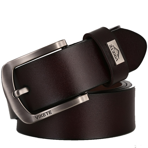 Soft Split Cowhide Wearable Pin Buckle Men's Belts